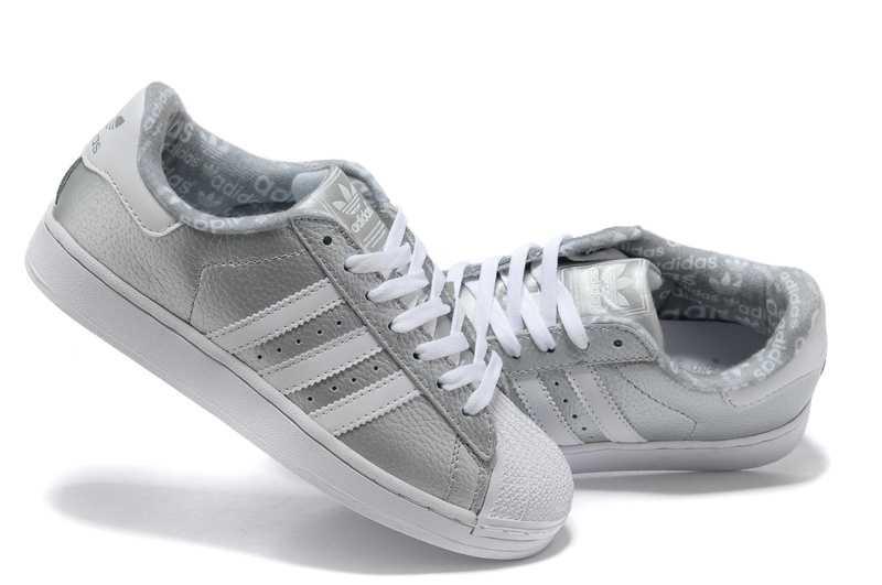 adidas superstar grise pas cher