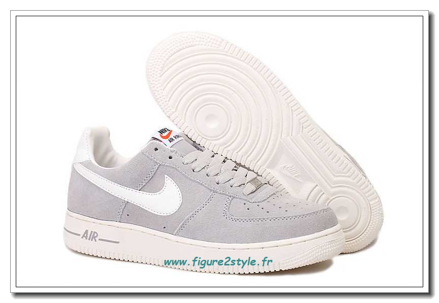 air force one gris clair femme