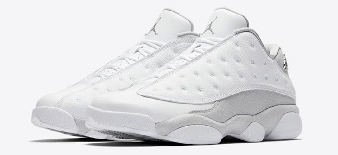 air jordan retro 13 blanche