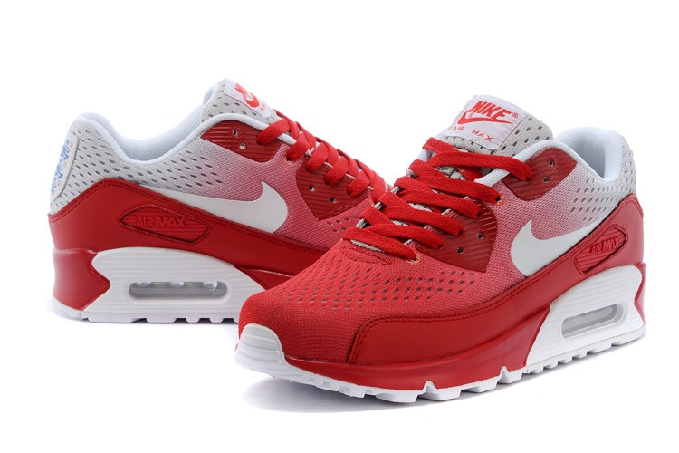 quality design new product undefeated x air max 90 rouge et blanc