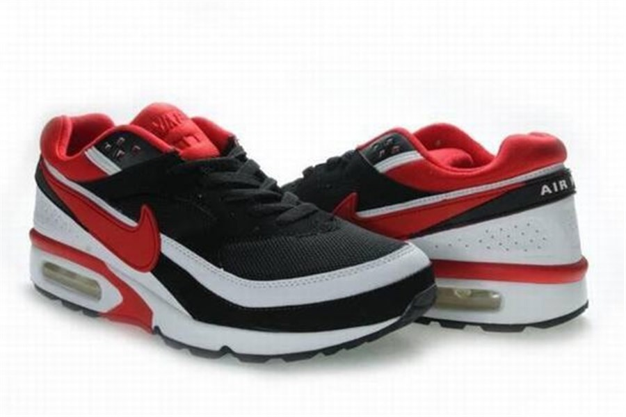 air max bw blanche et rouge
