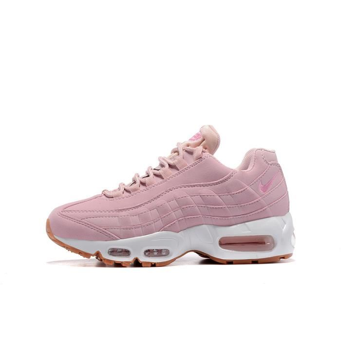chaussure sneakers nike femme rose pâle